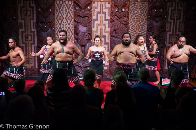 Traditional Maori performance