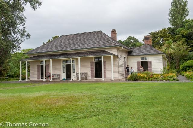 The Treaty House at Waitangi